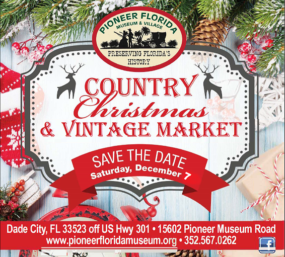 Country Christmas Save the Date 2019